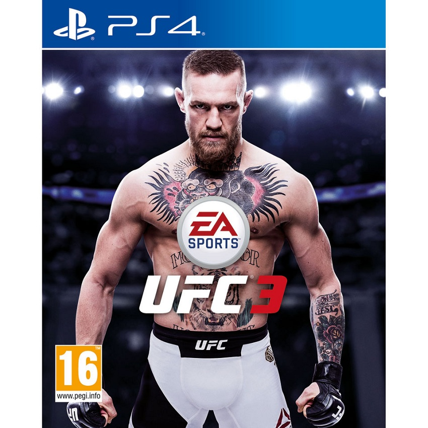 Đĩa Game Ps4: Ufc 3