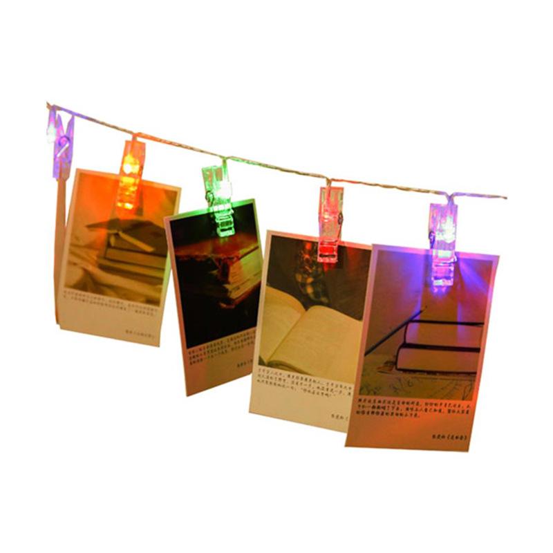 Dây Kẹp Ảnh Đèn LED Treo Tường Nhiều Màu - 7640725 , 8712245725021 , 62_13154095 , 153000 , Day-Kep-Anh-Den-LED-Treo-Tuong-Nhieu-Mau-62_13154095 , tiki.vn , Dây Kẹp Ảnh Đèn LED Treo Tường Nhiều Màu