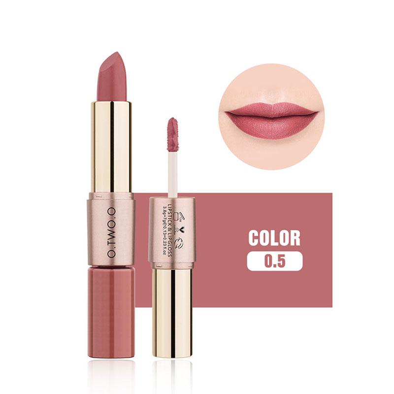 Lipstick Sanding Lipstick Personality 12 Color Charming Makeup for O.TWO.O 5#