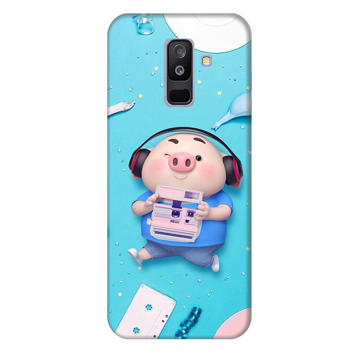 Ốp lưng nhựa cứng nhám dành cho Samsung Galaxy A6 Plus 2018 in hình Heo Nghe Nhạc - 2017095 , 6792972694328 , 62_15109827 , 200000 , Op-lung-nhua-cung-nham-danh-cho-Samsung-Galaxy-A6-Plus-2018-in-hinh-Heo-Nghe-Nhac-62_15109827 , tiki.vn , Ốp lưng nhựa cứng nhám dành cho Samsung Galaxy A6 Plus 2018 in hình Heo Nghe Nhạc