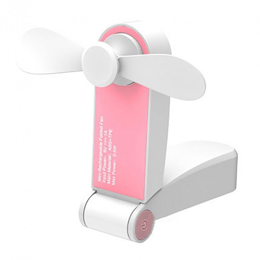 Quạt Mini Cầm Tay Sạc USB Có Thể Gập Gọn