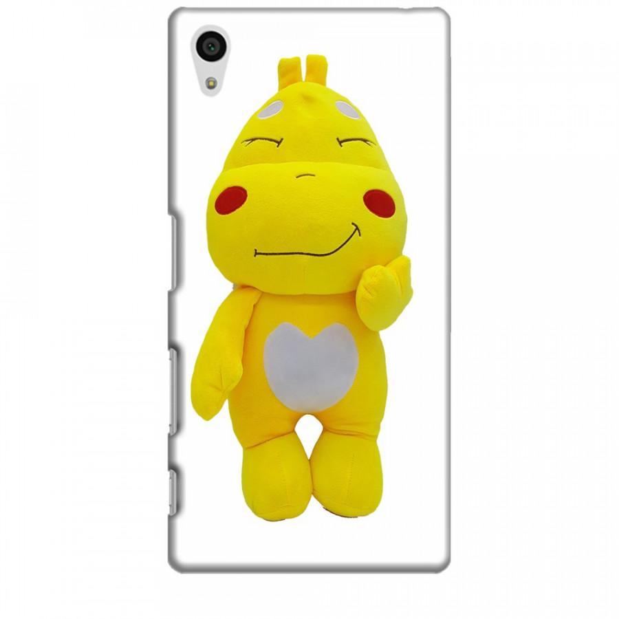 Ốp lưng dành cho điện thoại SONY Z5 Khủng Long lai Ong QooBee Agapi Mẫu 2