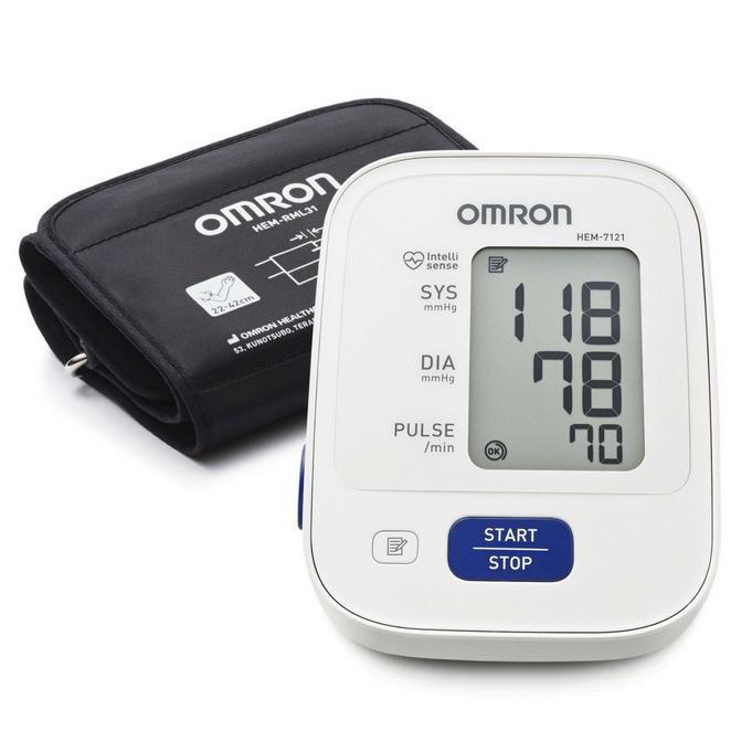 Máy đo huyết áp bắp tay OMRON HEM 7121 công nghệ Intellisense mới tự động hoàn toàn (NHẬT) - 1144084 , 7056935311974 , 62_4463985 , 1080000 , May-do-huyet-ap-bap-tay-OMRON-HEM-7121-cong-nghe-Intellisense-moi-tu-dong-hoan-toan-NHAT-62_4463985 , tiki.vn , Máy đo huyết áp bắp tay OMRON HEM 7121 công nghệ Intellisense mới tự động hoàn toàn (NHẬT