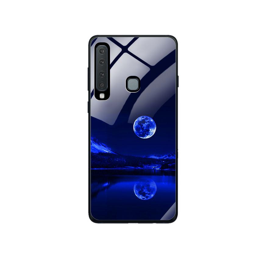 Ốp Lưng Kính Cường Lực cho điện thoại Samsung Galaxy A9 2018 - 0269 MOON02