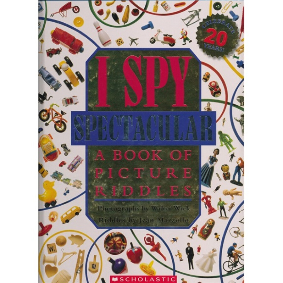 I Spy Spectacular : A Book of Picture Riddles - 1233505 , 1534429388900 , 62_5260323 , 1570000 , I-Spy-Spectacular-A-Book-of-Picture-Riddles-62_5260323 , tiki.vn , I Spy Spectacular : A Book of Picture Riddles
