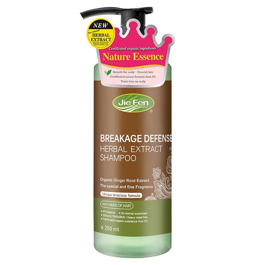 Dầu gội thảo dược Organic ngăn ngừa tóc gãy rụng Jie Fen Break Defense Shampoo, Taiwan 250 ml - 1550507 , 3329660384778 , 62_10056159 , 250000 , Dau-goi-thao-duoc-Organic-ngan-ngua-toc-gay-rung-Jie-Fen-Break-Defense-Shampoo-Taiwan-250-ml-62_10056159 , tiki.vn , Dầu gội thảo dược Organic ngăn ngừa tóc gãy rụng Jie Fen Break Defense Shampoo, Taiw