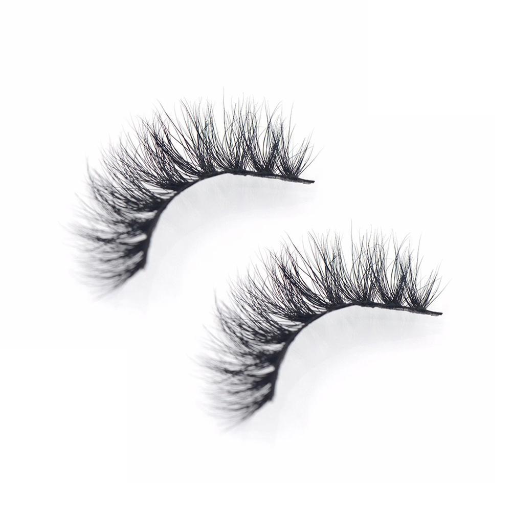 3D Faux Mink Makeup Cross False Eyelashes Eye Lashes Extension Beauty Tool