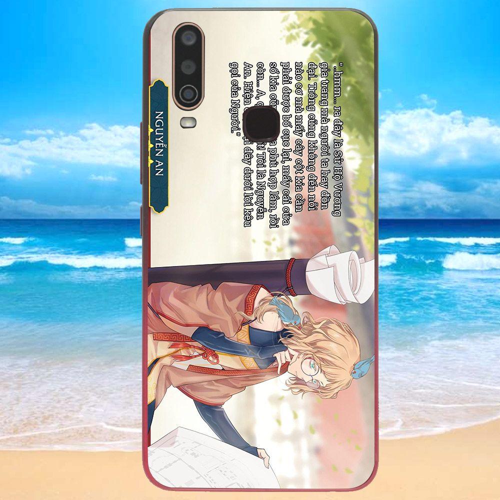 Ốp lưng điện thoại Vivo Y15 - sử hộ vương MS SHV020-Hàng Chính Hãng Cao Cấp
