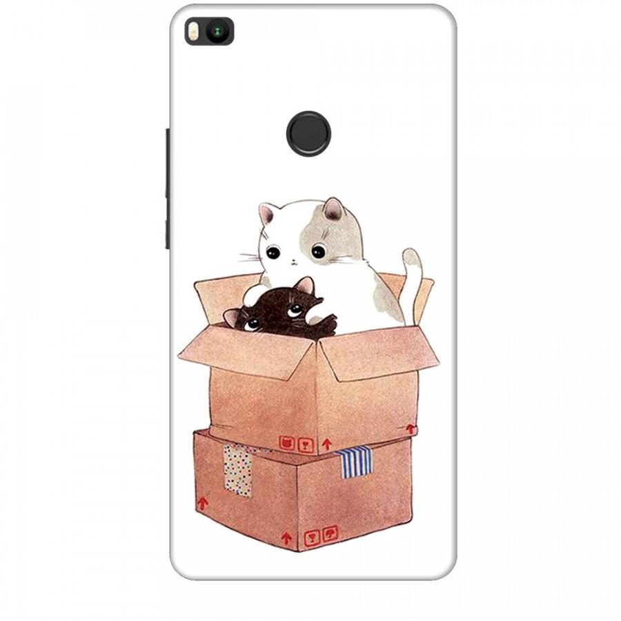 Ốp lưng dành cho điện thoại XIAOMI MI MAX 2 Mèo Con Dễ Thương