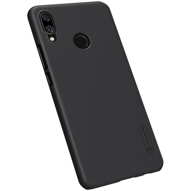 Ốp lưng sần cho Huawei Nova 3i Nillkin (Đính kèm miếng dán từ tính hoặc giá đỡ) - Hàng chính hãng