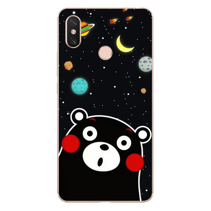 Ốp lưng dẻo Nettacase cho điện thoại Xiaomi Mi Max 3_0345 BEAR03 - Hàng Chính Hãng
