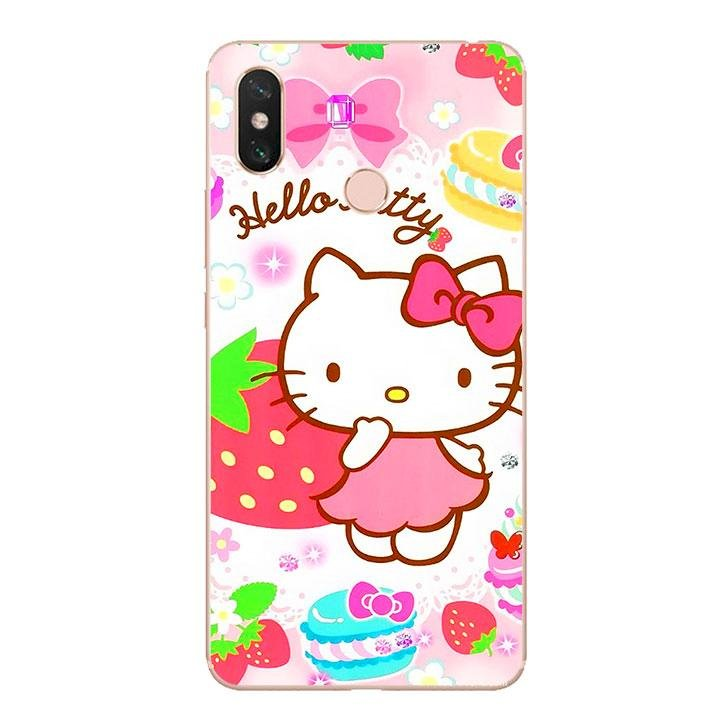Ốp lưng dẻo cho điện thoại Xiaomi Mi Max 3 - Kute Cat