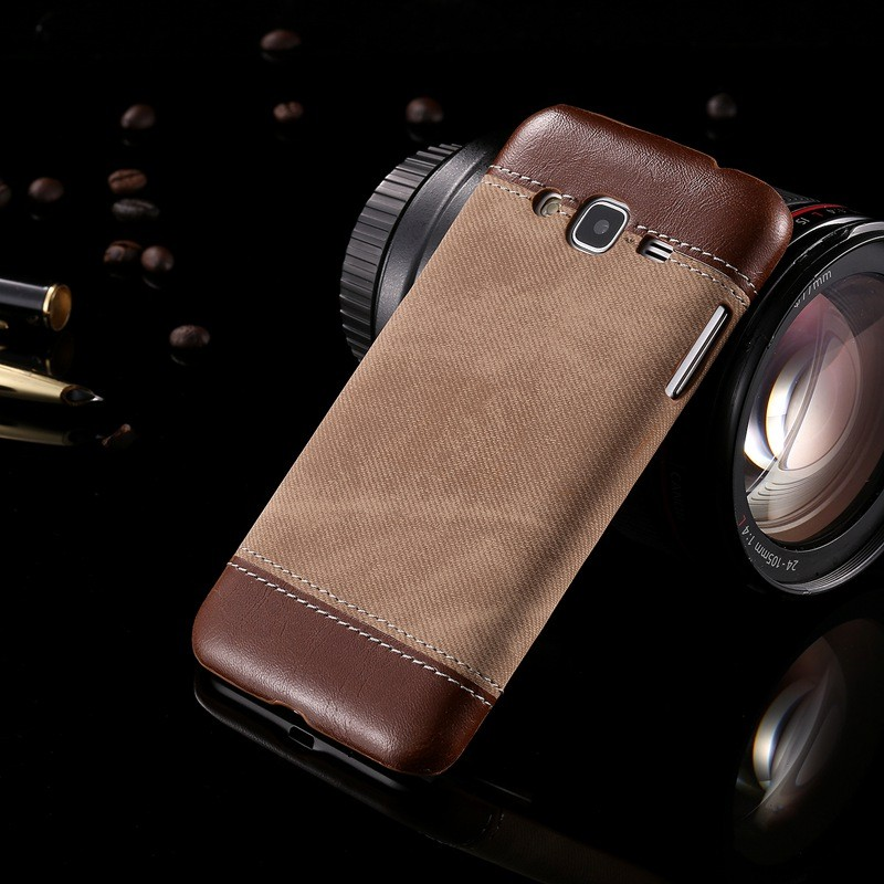 For Samsung Galaxy J3 Case Luxury Cowboy PU Leather Back Cover Case For Samsung J3 2016 J320FN J320F Protective Case