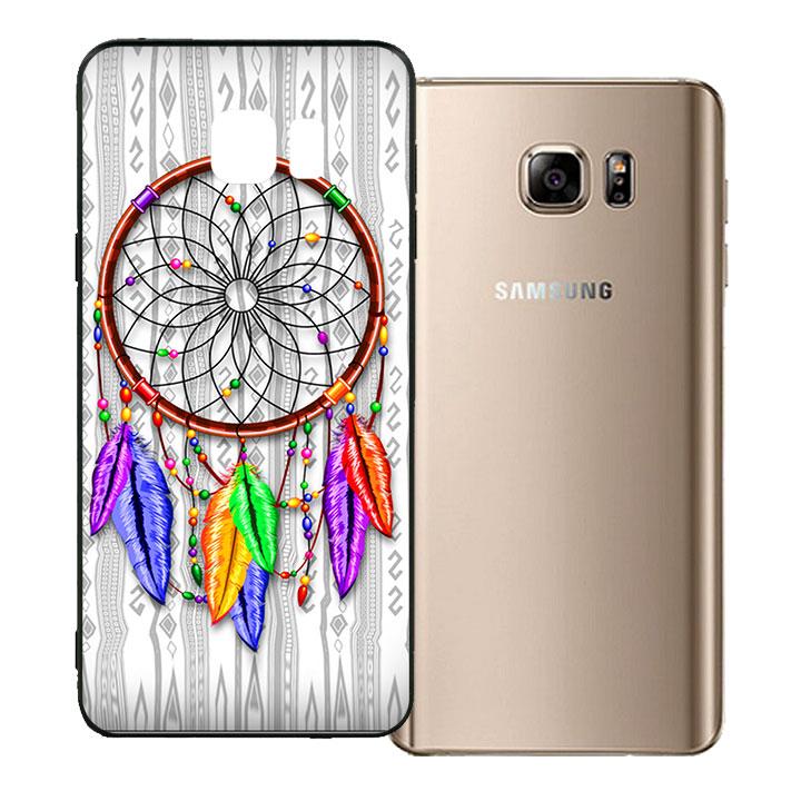 Ốp lưng viền TPU cho Samsung Galaxy Note 5 - Dreamcatcher 06