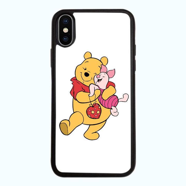 Ốp lưng dành cho điện thoại iPhone XR - X/XS - XS MAX - Gấu Pooh Mẫu 0003