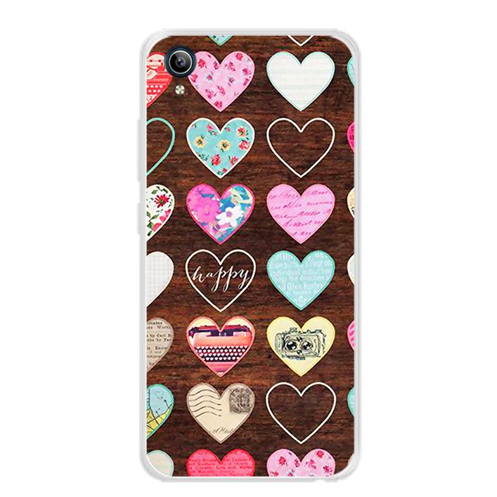 Ốp lưng dẻo cho điện thoại Vivo Y91C - 0069 HEART08 - Hàng Chính Hãng