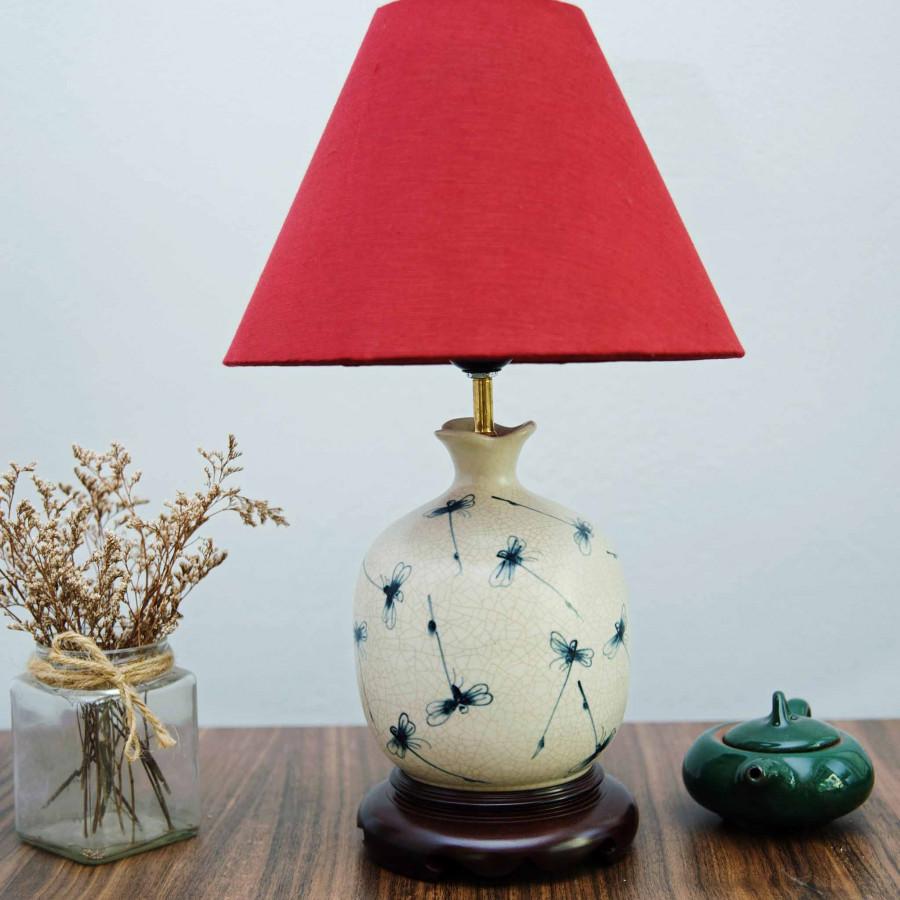 Đèn ngủ Đèn bàn gốm sứ cao cấp DG026