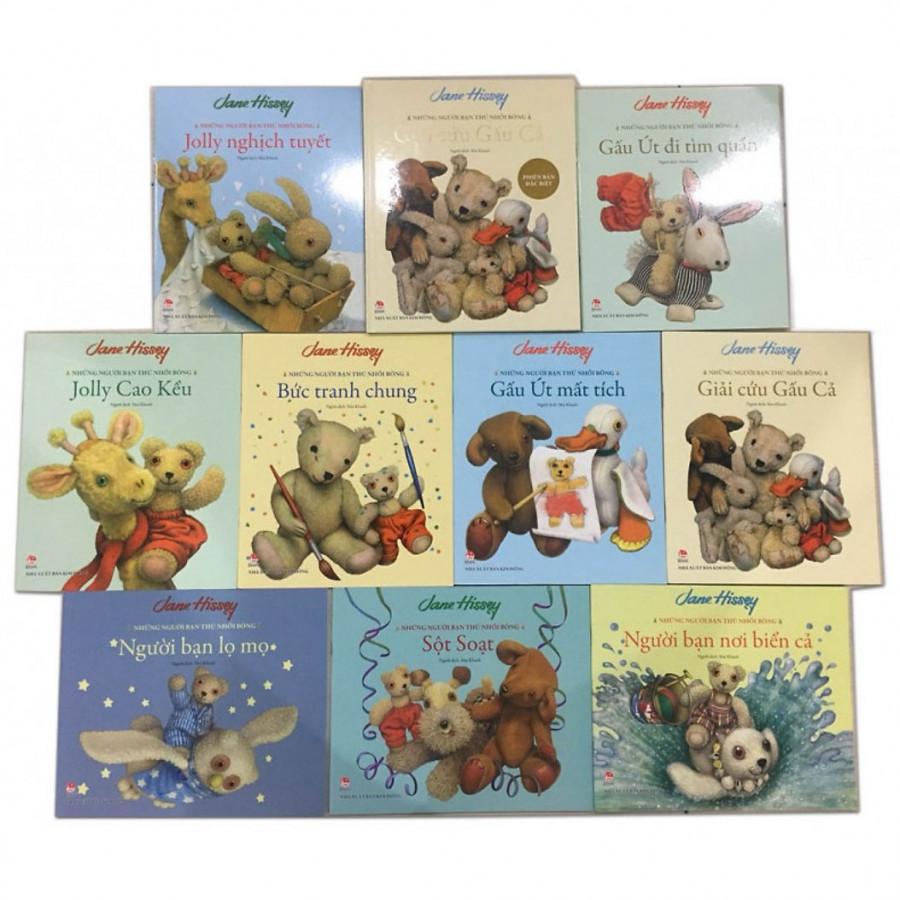 Trọn bộ Những Người Bạn Thú Nhồi Bông (9 cuốn bìa mềm + 1 cuốn bìa cứng) - 1412417 , 4323445158638 , 62_8157790 , 321000 , Tron-bo-Nhung-Nguoi-Ban-Thu-Nhoi-Bong-9-cuon-bia-mem-1-cuon-bia-cung-62_8157790 , tiki.vn , Trọn bộ Những Người Bạn Thú Nhồi Bông (9 cuốn bìa mềm + 1 cuốn bìa cứng)