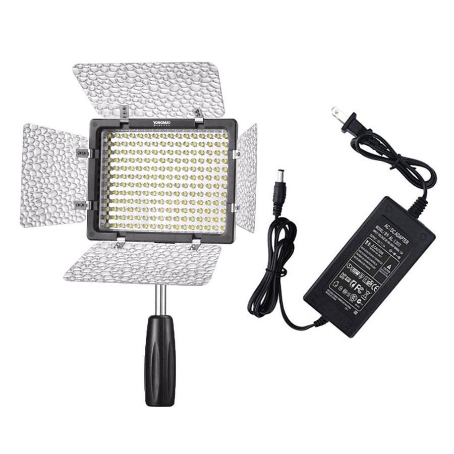 Combo Đèn LED Yongnuo YN-160 III + Adapter - Hàng Nhập Khẩu - 1348540 , 5001913994863 , 62_5850101 , 2200000 , Combo-Den-LED-Yongnuo-YN-160-III-Adapter-Hang-Nhap-Khau-62_5850101 , tiki.vn , Combo Đèn LED Yongnuo YN-160 III + Adapter - Hàng Nhập Khẩu