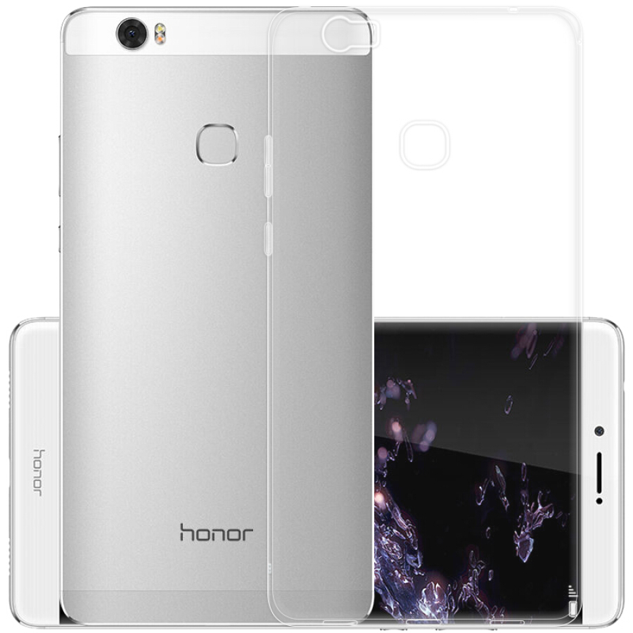 Ốp Silicone Trong Suốt Cho Huawei Honor Note 8 YOMO - Trong Suốt