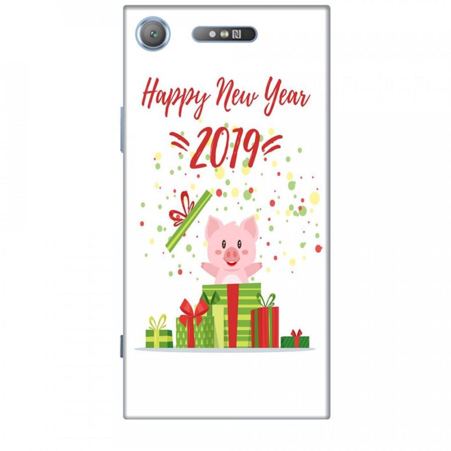 Ốp lưng dành cho điện thoại SONY XZ1 Happy New Year Mẫu 3