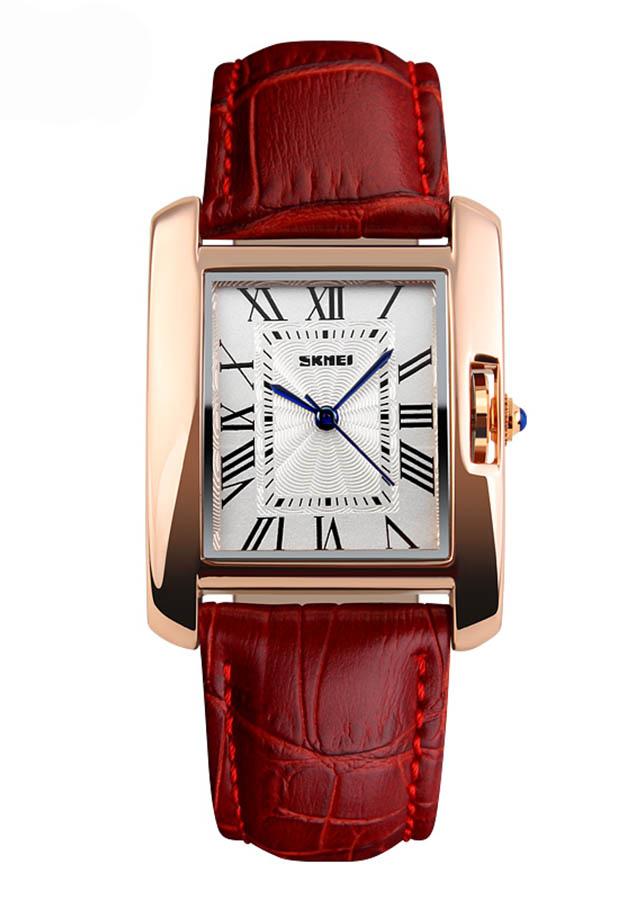 Đồng hồ Nữ dây da SKMEI 1085 - DHA403