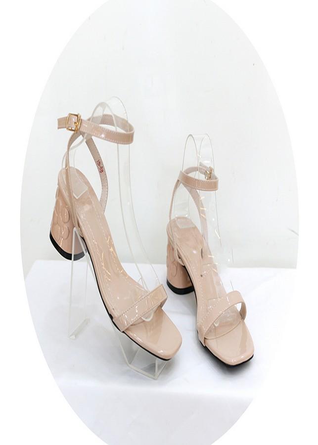 Sandal gót hoa kem SD05018M1 - 859470 , 5464040197468 , 62_14445434 , 450000 , Sandal-got-hoa-kem-SD05018M1-62_14445434 , tiki.vn , Sandal gót hoa kem SD05018M1