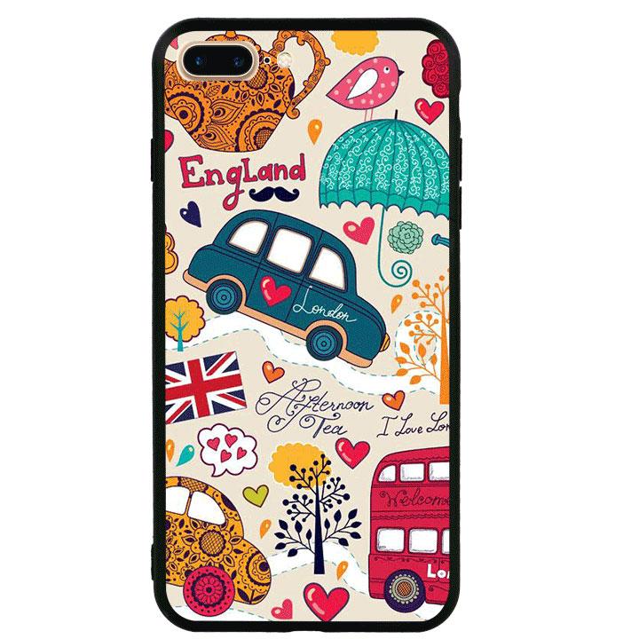 Ốp lưng viền TPU cao cấp cho Iphone 7 Plus - London 01
