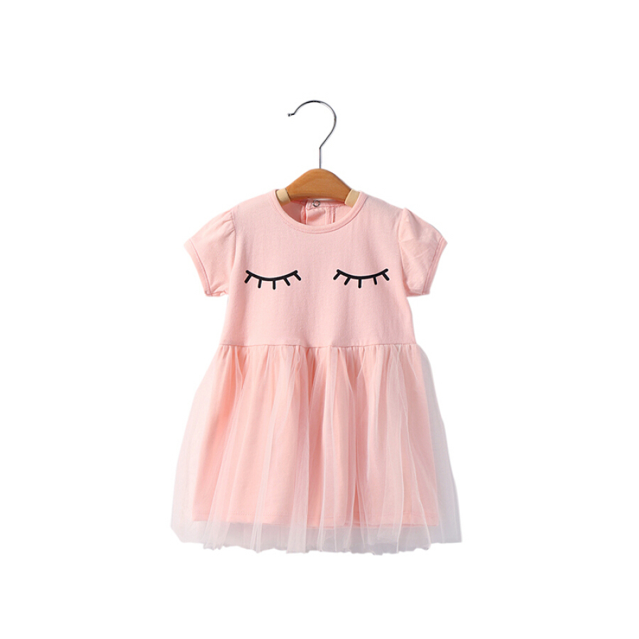 Shu Beiyi Girls Dress Summer Dress Children