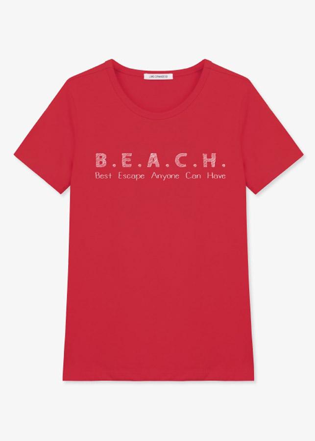 Áo Tay Ngắn Nữ LimeOrange T-shirt -LO19161123-DR (Size M)