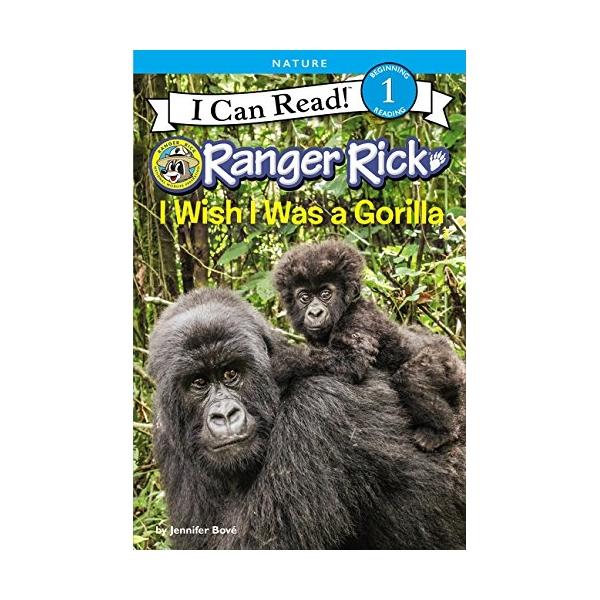 Icr L1: Ranger Rick I Wish I Was A Gorilla - 1709179 , 5028593109080 , 62_11863869 , 174000 , Icr-L1-Ranger-Rick-I-Wish-I-Was-A-Gorilla-62_11863869 , tiki.vn , Icr L1: Ranger Rick I Wish I Was A Gorilla