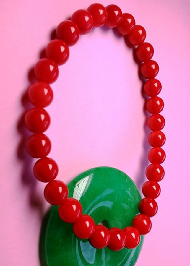 Vòng tay đá san hô đỏ loại 1 + Tặng hộp quà cao cấp - 1030952 , 2785821760163 , 62_6123261 , 188000 , Vong-tay-da-san-ho-do-loai-1-Tang-hop-qua-cao-cap-62_6123261 , tiki.vn , Vòng tay đá san hô đỏ loại 1 + Tặng hộp quà cao cấp