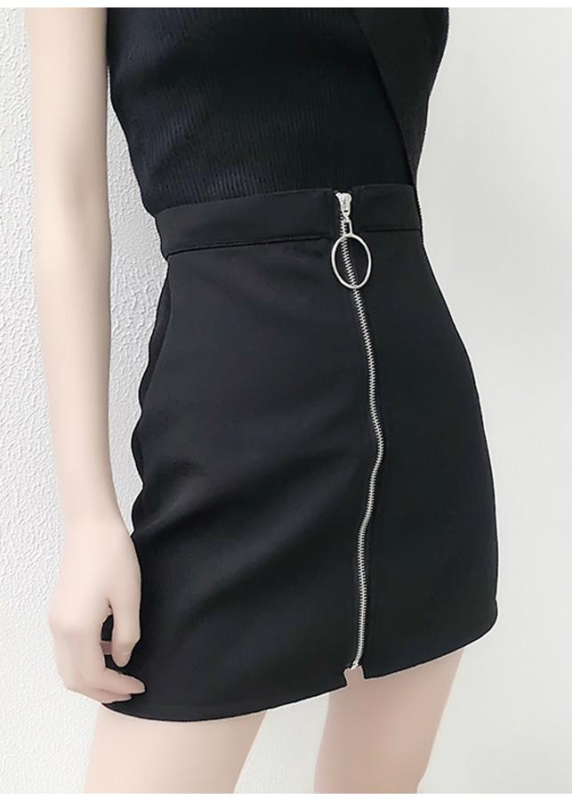 Chân váy nữ cá tính dây kéo khoen tròn Mã: VN773 - 1108115 , 7833045582575 , 62_4034425 , 160000 , Chan-vay-nu-ca-tinh-day-keo-khoen-tron-Ma-VN773-62_4034425 , tiki.vn , Chân váy nữ cá tính dây kéo khoen tròn Mã: VN773