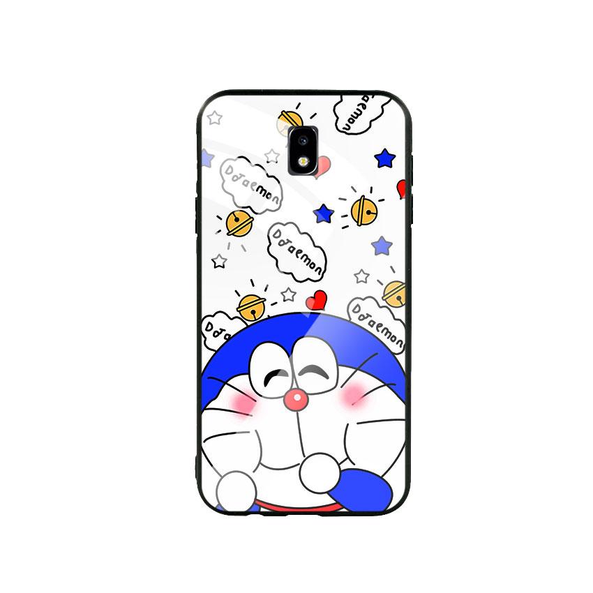 Ốp Lưng Kính Cường Lực cho điện thoại Samsung Galaxy J7 Pro - Doremon 03