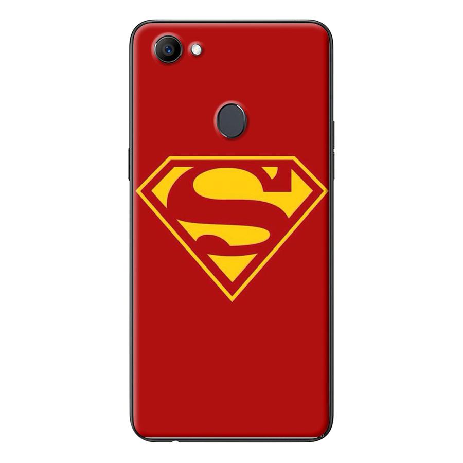 ỐpLưng Dành Cho Oppo F7 - Logo Superman Đỏ