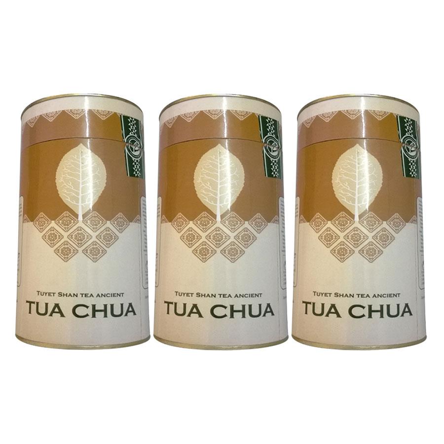 Combo 3 Chè Tuyết Shan Cổ Thụ Tủa Chùa Dien Bien Food (100g / Hộp)
