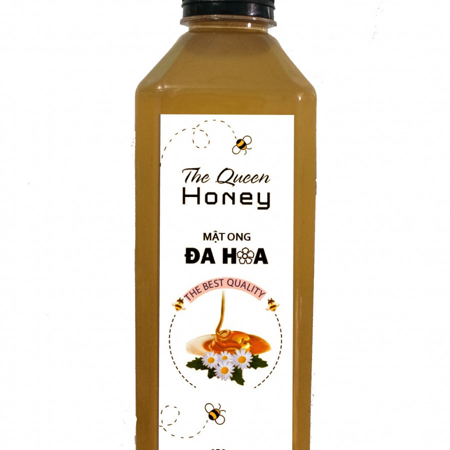 Mật ong đa hoa The Queen Honey 650gm Chai PET - 1743079 , 2489895588882 , 62_12283636 , 120000 , Mat-ong-da-hoa-The-Queen-Honey-650gm-Chai-PET-62_12283636 , tiki.vn , Mật ong đa hoa The Queen Honey 650gm Chai PET