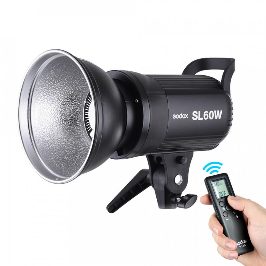 Godox SL -60W 5600K 60W High Power LED Video Light Wireless Remote Control with Bowens Mount for Photo Studio Photography