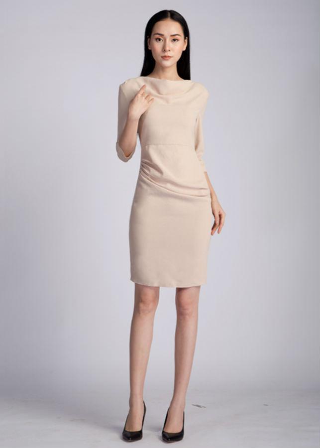 Váy Nữ Cổ Đổ AY1005B - Be - 1017723 , 8063047794587 , 62_5874689 , 799000 , Vay-Nu-Co-Do-AY1005B-Be-62_5874689 , tiki.vn , Váy Nữ Cổ Đổ AY1005B - Be