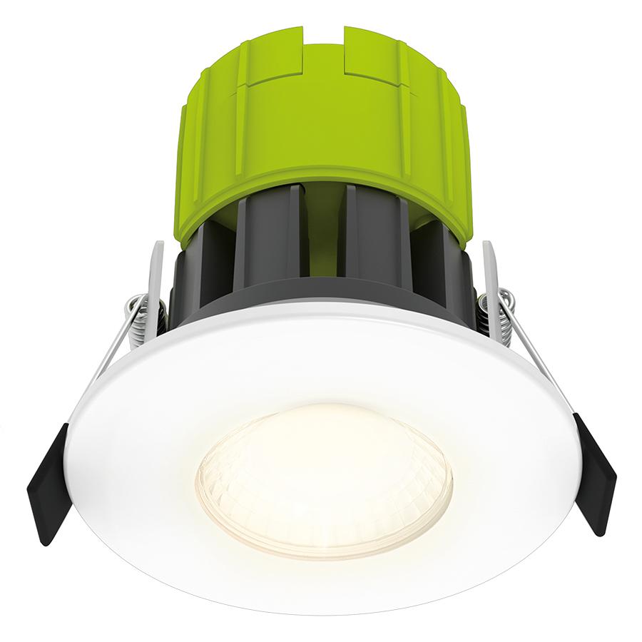 Đèn Downlight Chống Cháy Luceco EFT80W30 (8W) - Ánh Sáng Vàng