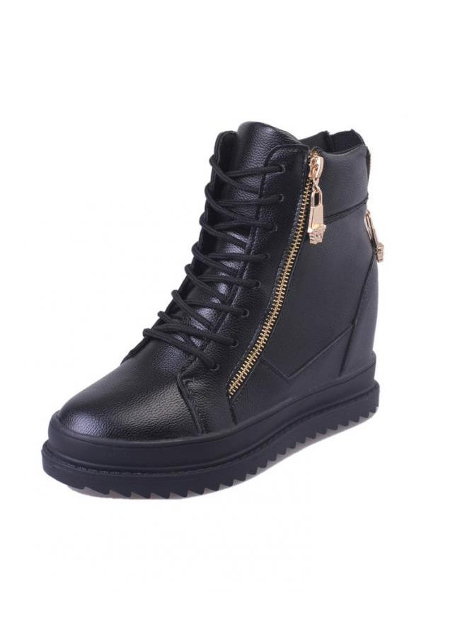 Giày boot nữ cổ cao đế độn cá tính 042BD (Đen) - 7854578 , 6691163630827 , 62_3554993 , 380000 , Giay-boot-nu-co-cao-de-don-ca-tinh-042BD-Den-62_3554993 , tiki.vn , Giày boot nữ cổ cao đế độn cá tính 042BD (Đen)