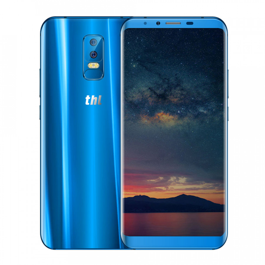 thl Knight 2 4G Mobile Phone Face Recognition Wireless Charging 6-inch 18:9 HD+ Display MT6750 Octa-core 4GB+64GB