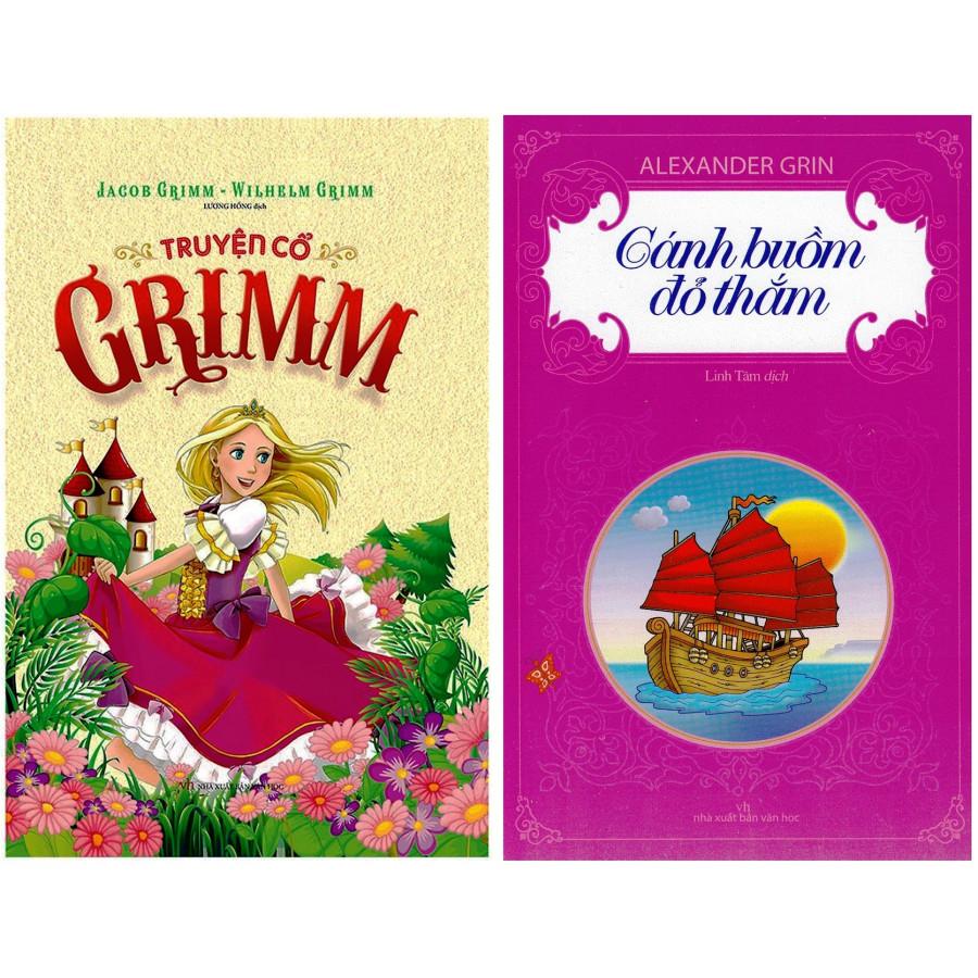 Combo Truyện Cổ Grimm + Cánh Buồm Đỏ Thắm