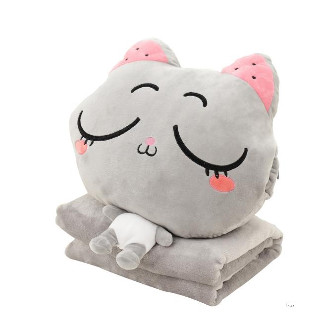 Set chăn gối ôm hình mèo 3 in 1 dễ thương - 1932698 , 6646217124494 , 62_12574443 , 350000 , Set-chan-goi-om-hinh-meo-3-in-1-de-thuong-62_12574443 , tiki.vn , Set chăn gối ôm hình mèo 3 in 1 dễ thương