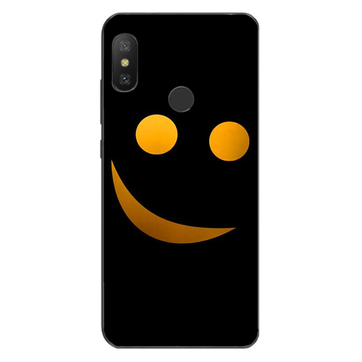 Ốp lưng dẻo cho điện thoại Xiaomi Mi A2 Lite_Smile 03