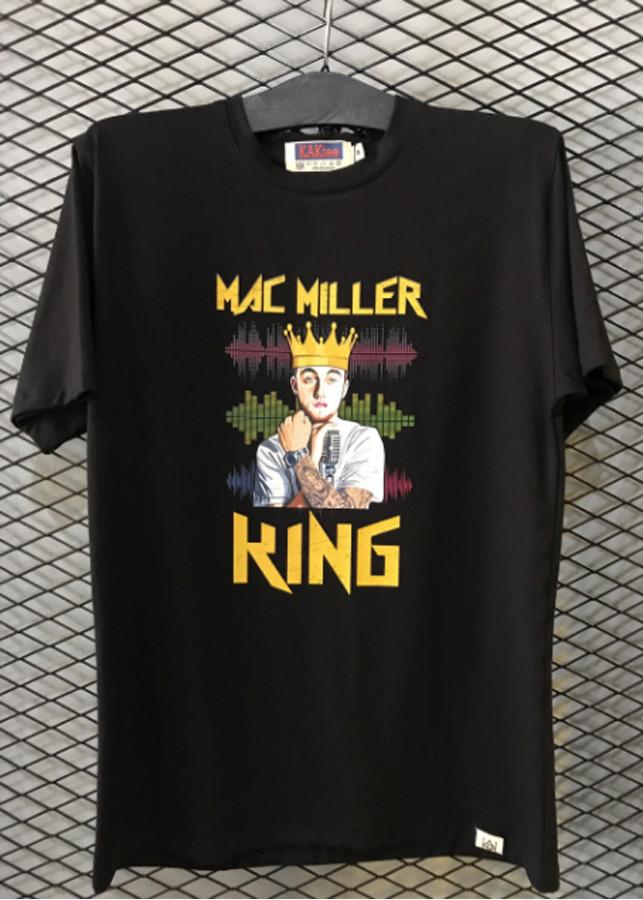 Áo thun Unisex Mac Miller (trắng, đen)