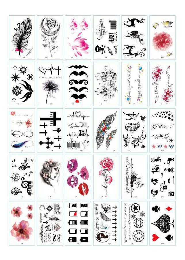 30 Tờ Hình Xăm Dán Tattoo Tha Thu Từ 55 - 120 Mẫu - 1085510 , 7783410716916 , 62_15128764 , 60000 , 30-To-Hinh-Xam-Dan-Tattoo-Tha-Thu-Tu-55-120-Mau-62_15128764 , tiki.vn , 30 Tờ Hình Xăm Dán Tattoo Tha Thu Từ 55 - 120 Mẫu