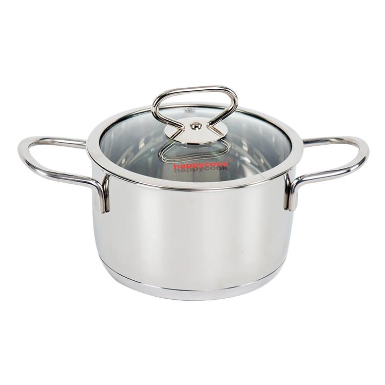 Nồi Inox Cao Cấp 3 Đáy Nắp Kiếng Happy Cook Delux Plus - 1723586 , 4952419468406 , 62_9424274 , 569000 , Noi-Inox-Cao-Cap-3-Day-Nap-Kieng-Happy-Cook-Delux-Plus-62_9424274 , tiki.vn , Nồi Inox Cao Cấp 3 Đáy Nắp Kiếng Happy Cook Delux Plus