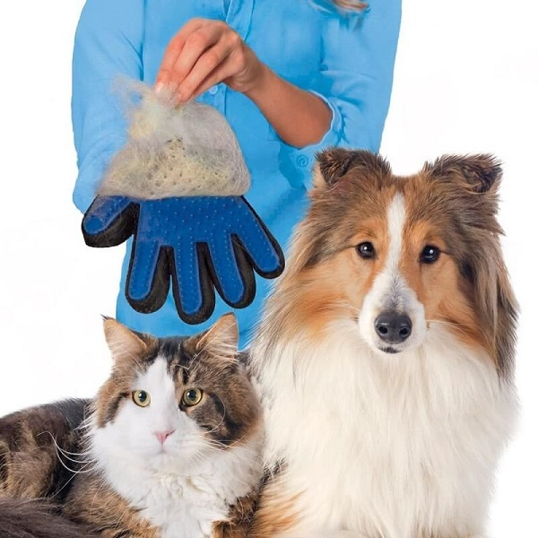 Găng tay lấy lông True Touch cho chó mèo