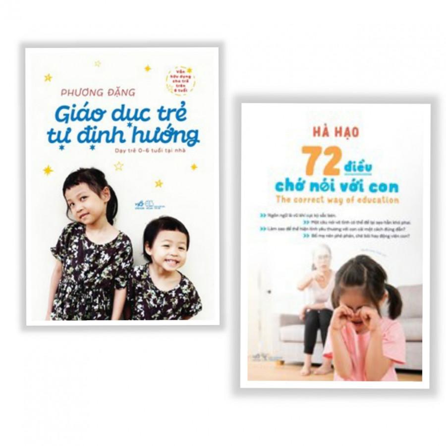Combo 2 Cuốn: Giáo Dục Trẻ Tự Định Hướng + 72 Điều Chớ Nói Với Con - Tặng kèm bookmark AHA - 7440000 , 2447687912239 , 62_15561942 , 204000 , Combo-2-Cuon-Giao-Duc-Tre-Tu-Dinh-Huong-72-Dieu-Cho-Noi-Voi-Con-Tang-kem-bookmark-AHA-62_15561942 , tiki.vn , Combo 2 Cuốn: Giáo Dục Trẻ Tự Định Hướng + 72 Điều Chớ Nói Với Con - Tặng kèm bookmark AHA